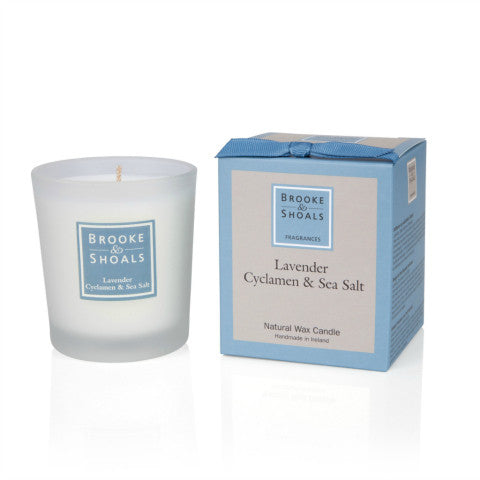 Brooke & Shoals Lavender Cyclamen & Sea Salt Candle