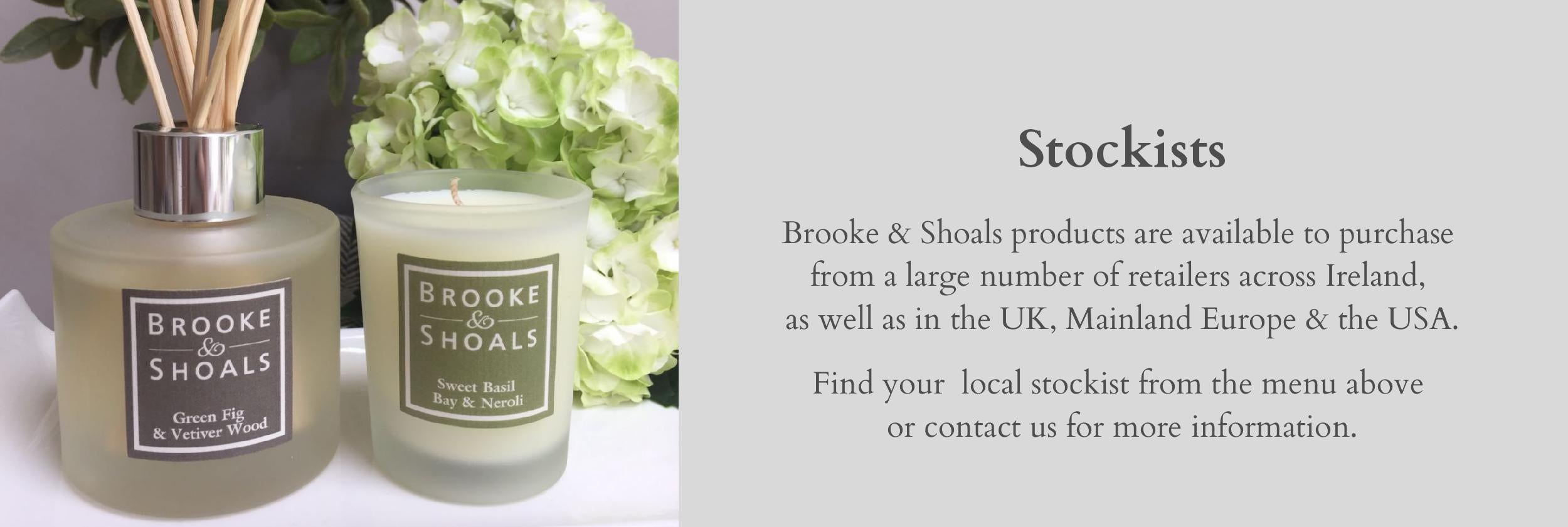 Brooke & Shoals Stockists