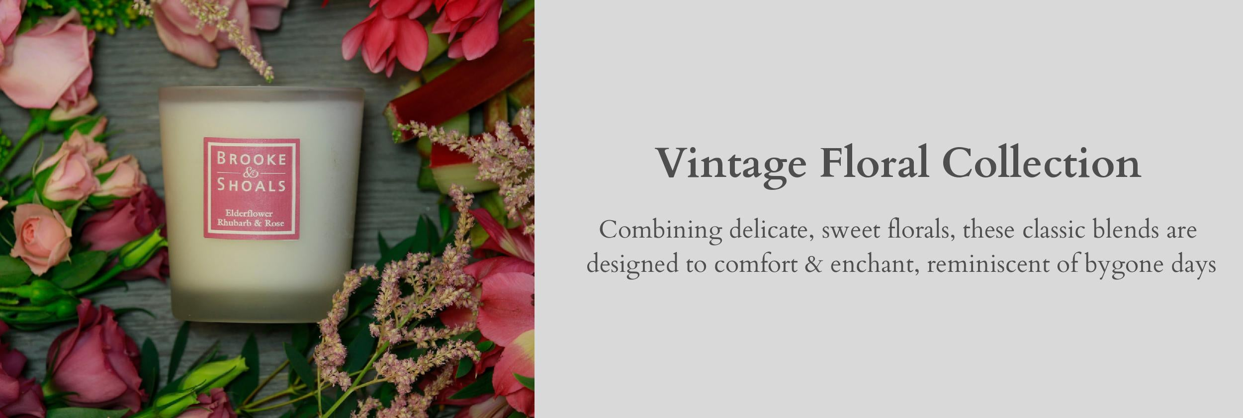 Brooke & Shoals - Vintage Floral Collection