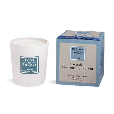 Scented Candle - Lavender, Cyclamen & Sea Salt