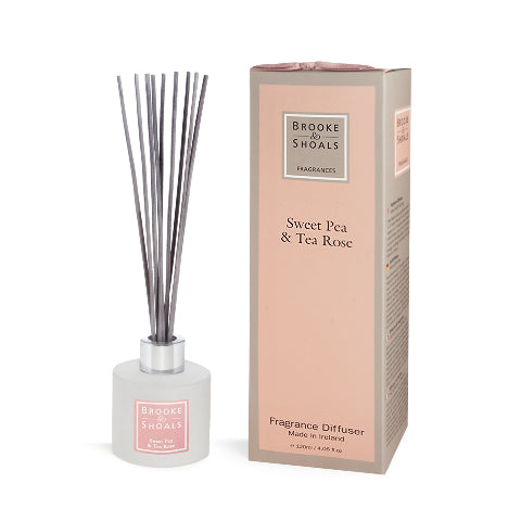 Fragrance Diffuser - Sweet Pea & Tea Rose