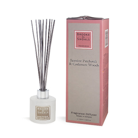Fragrance Diffuser - Jasmine Patchouli and Cashmere Woods