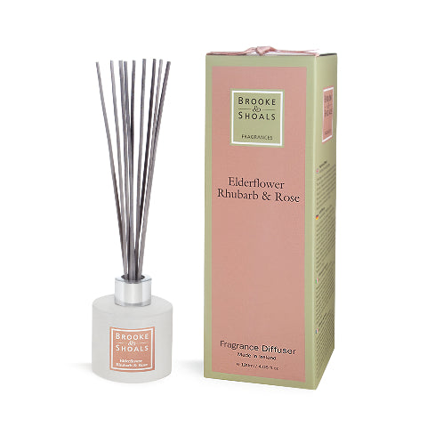 Fragrance Diffuser - Elderflower Rhubarb & Rose