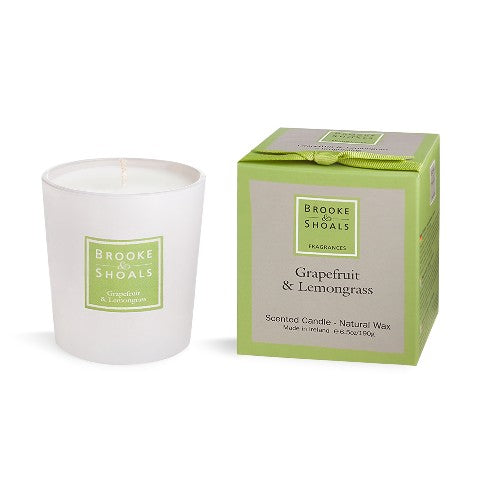 Scented Candle - Grapefruit & Lemongrass