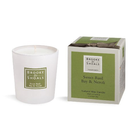 Scented Candle - Sweet Basil, Bay & Neroli