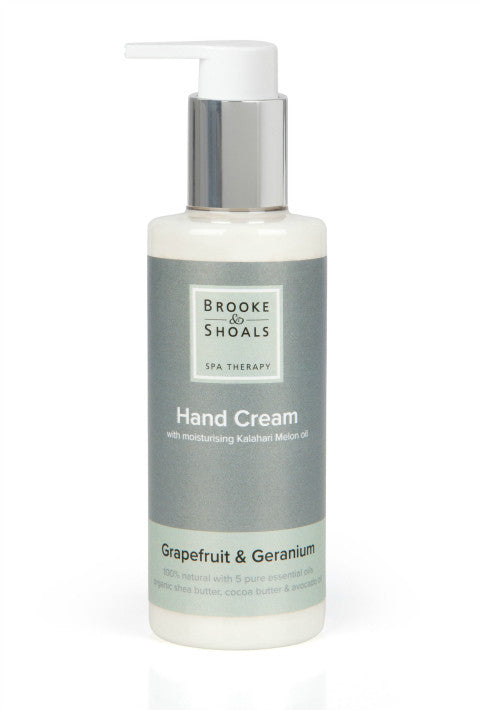 Natural Hand Cream - 'Grapefruit & Geranium'