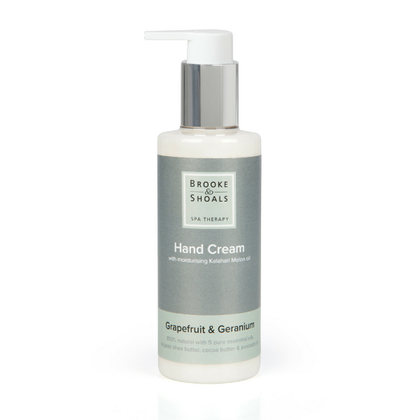 Natural Hand Cream - Grapefruit & Geranium