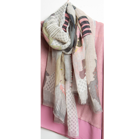 luxury Linen & Cotton Scarf