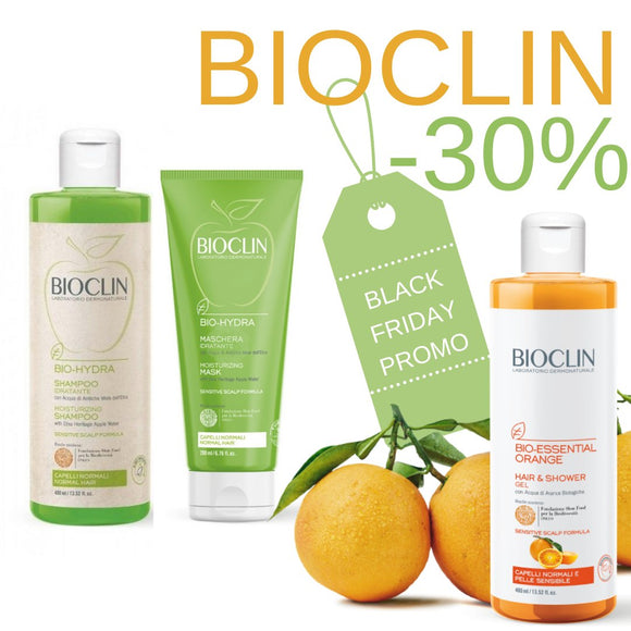 -30% BLACK FRIDAY Bio Hydra e Bio Essential Orange in collaborazione con Slow Food