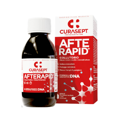 Curasept Afte Rapid Collutorio 125 ml Collutorio