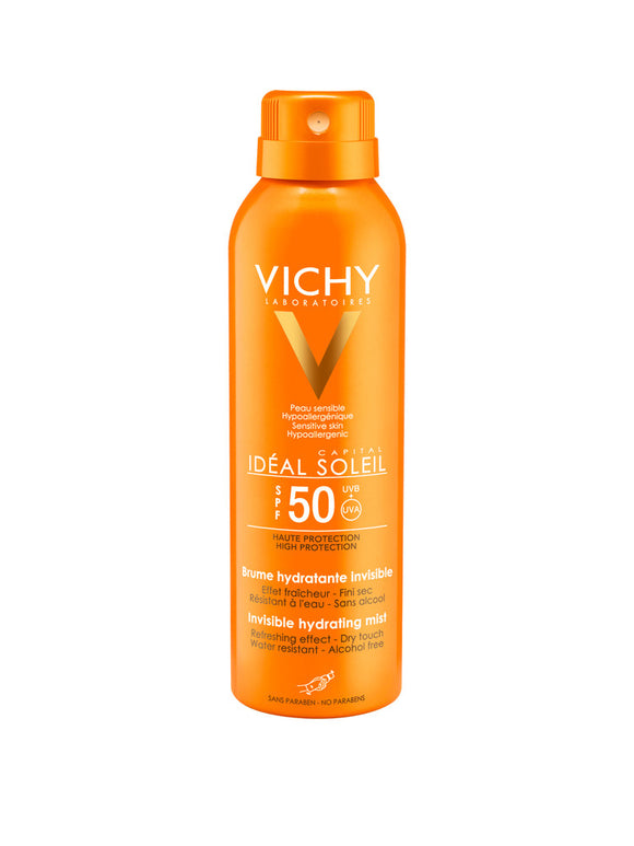 Vichy Ideal Soleil Spray Viso Invisible SPF50+ 75ml