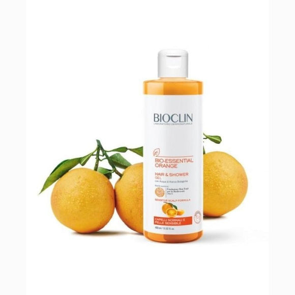 Bioclin Bio Essential Orange Detergente Corpo Capelli 400ml