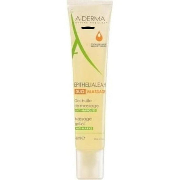 A-Derma Epitheliale A.H. Duo Massage gel-olio da massaggio 40ml