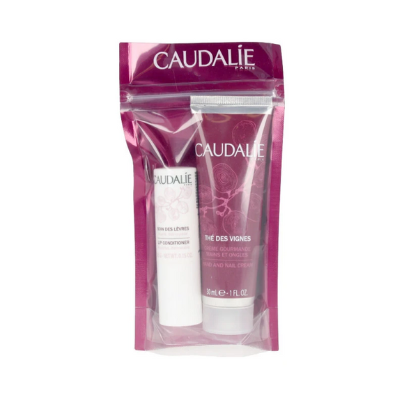 Caudalie Duo The Des Vigne Mani Labbra 30ml+4,5g