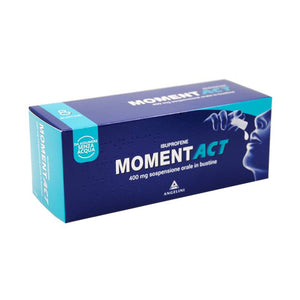 Momentact Sospensione Orale 8 Bustine 400mg