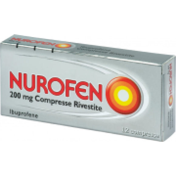Nurofen 200mg antinfiammatorio 12 compresse rivestite