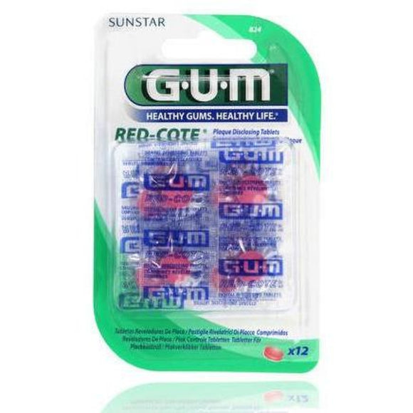 Gum Red Cote Rivelatore Placca 12 pastiglie