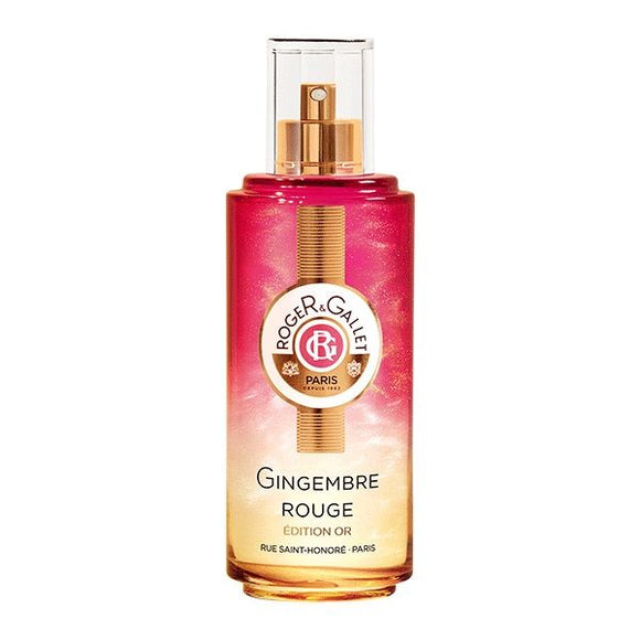 Roger & Gallet Gingembre Rouge glitter acqua profumata Gold Edition 100ml