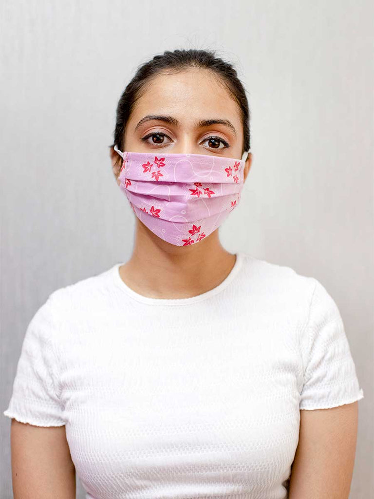 Cotton Reusable Face Masks - Pinklay