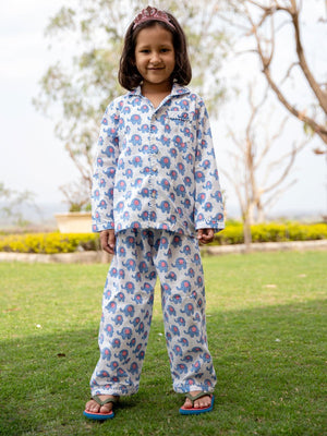 Appu Organic Cotton Top & Pyjama Set - Pinklay