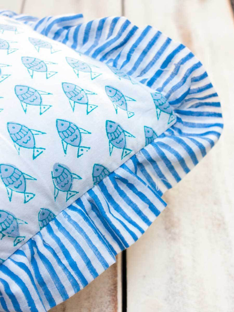 Little Fish Organic Cotton Infant Pillow New Kids Collection