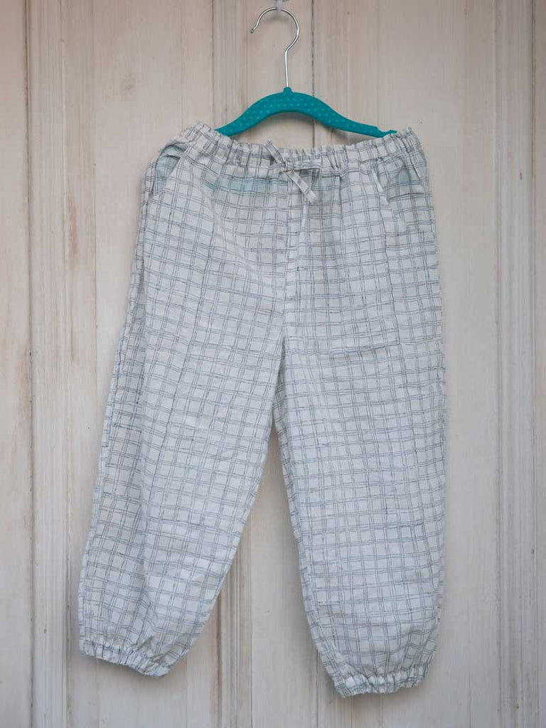 Checkmate Organic Cotton Comfort Pants - Pinklay