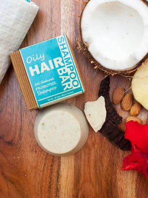 Oily Hair - Natural Handmade Shampoo Bar Soaps