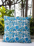 Nayaab Hand Block Print Double Side Printed Cotton Cushion Cover - 20 Inch Cushions