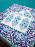 Noor Hand Block Print Cotton Table Mats - Set of 6