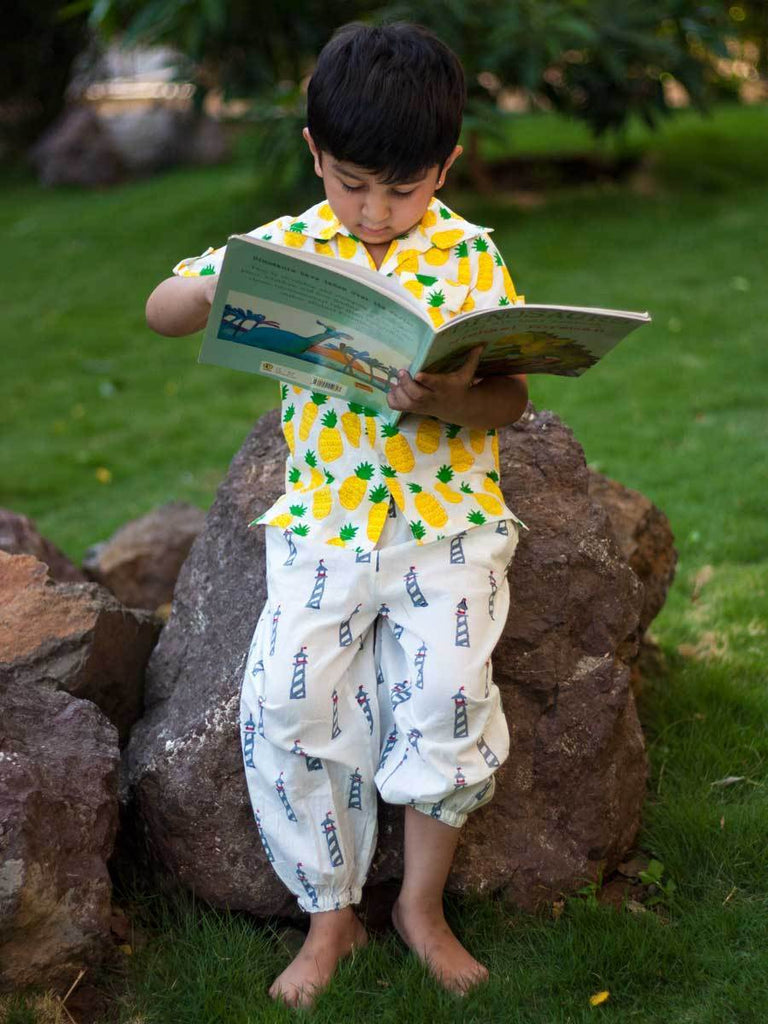 Lighthouse Magic Organic Cotton Comfort Pants Kids Clothing