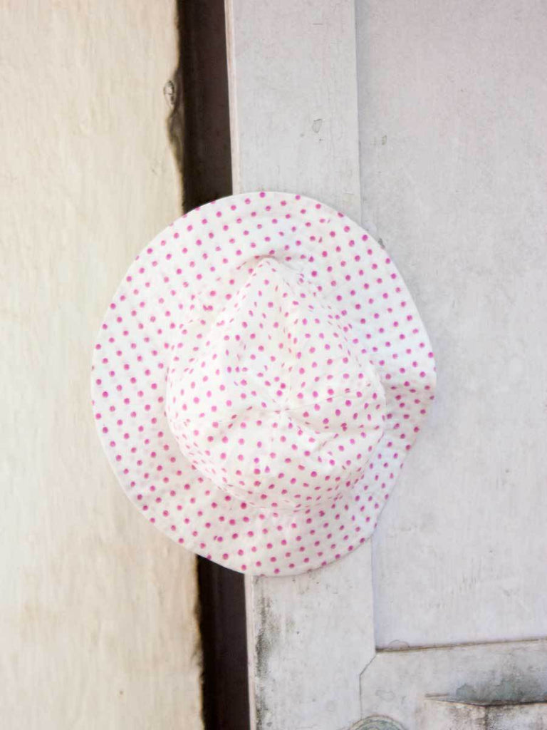 Pink Polka Organic Cotton Hat Kids Clothing