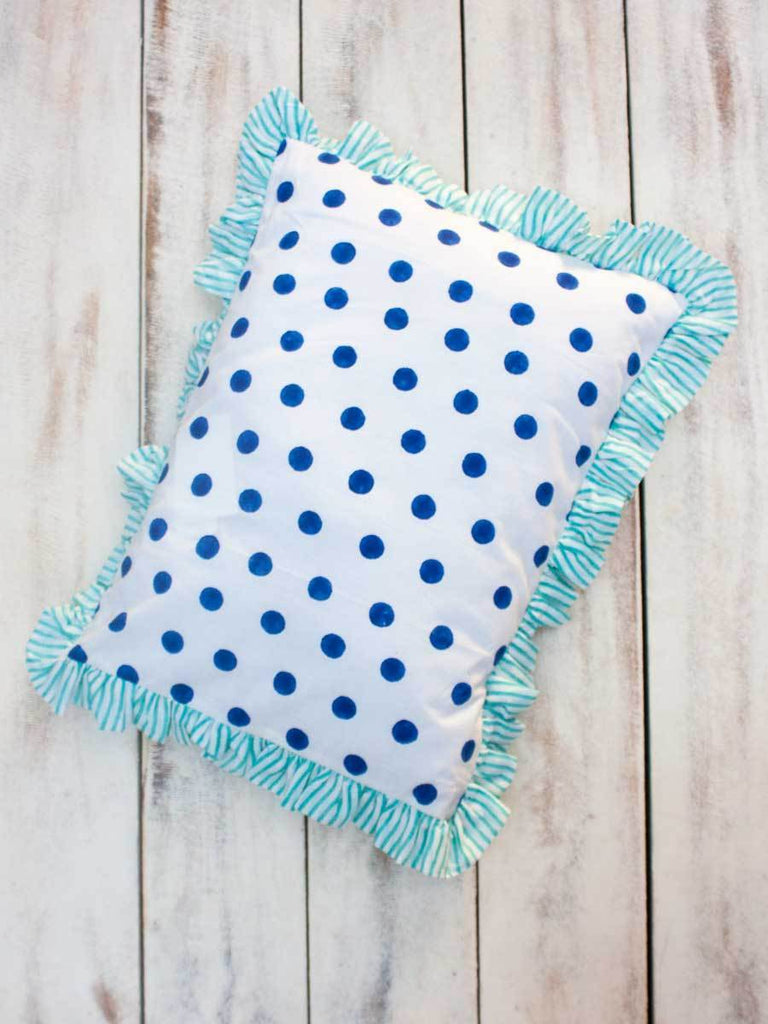 Big Polka Organic Cotton Infant Pillow New Kids Collection