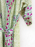 April Sunshine Hand Block Printed Kimono/Robe Bath Robes