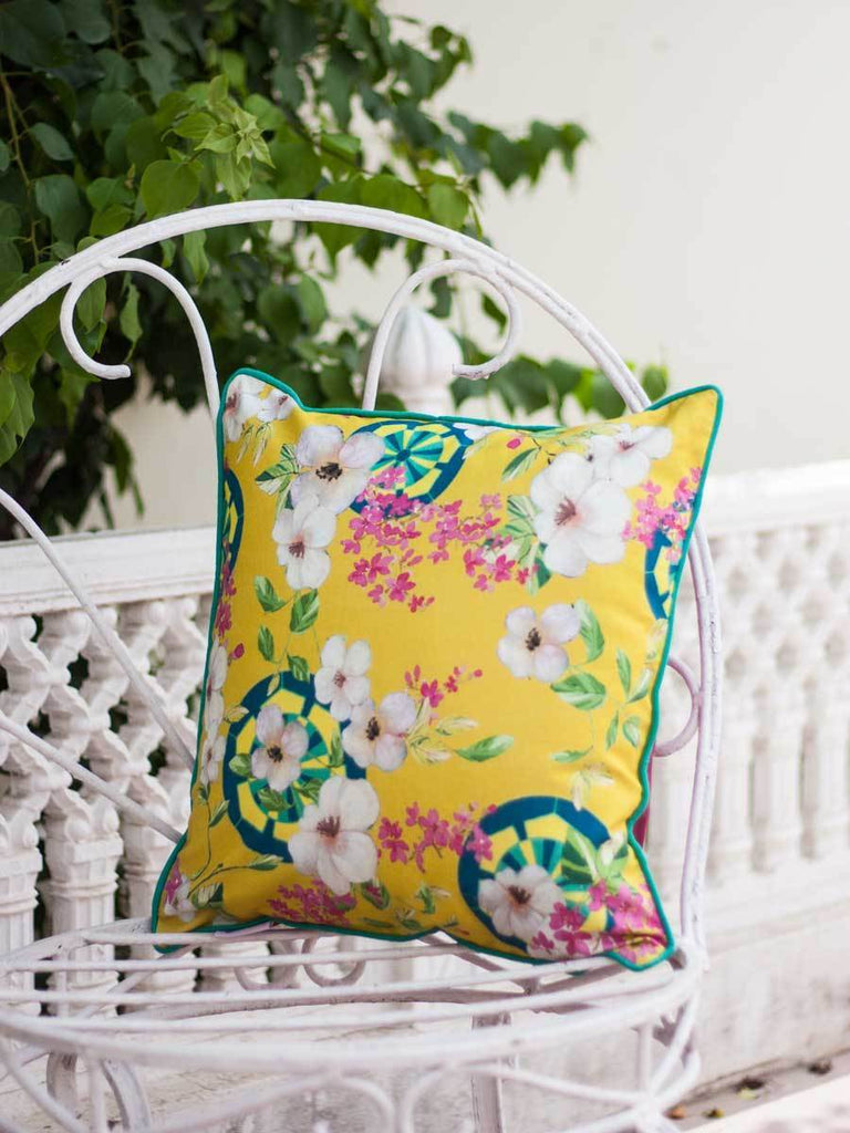 Tsubaki Cotton Cushion Cover - 16 Inch Cushions