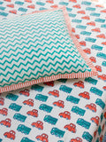 Vroom Vroom Cotton Single Bedsheet Set New Kids Collection