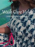 Pinklay Wash Care Guide for Indigo Clothing