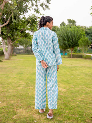 Mera Pyara Haathi Soft Cotton Pajama Set - Pinklay