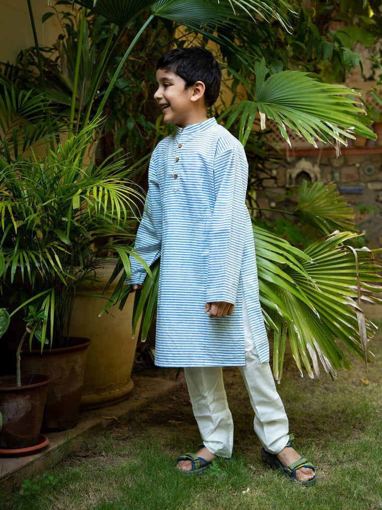 Sunshine Love Organic Cotton Long Kurta - Pinklay