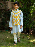 Sunshine Love Long Kurta Jacket Set - Pinklay