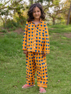 Sweet Dreams Organic Cotton Top & Pajama Set - Pinklay