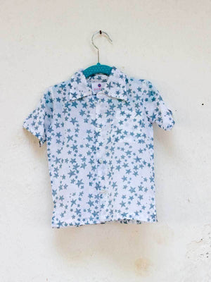 Starry Night Organic Cotton Shirt Kids Clothing