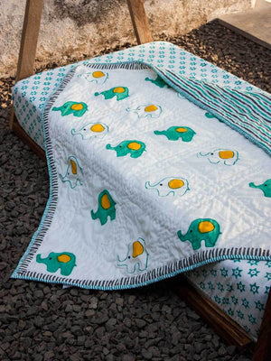 Appu GOTS Certified Organic Cotton Cot Bedding Set of 6 Kids Bedding