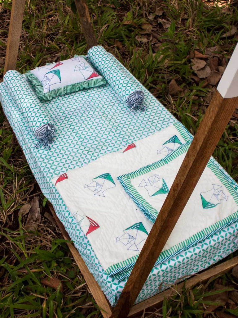 Kite Cotton Cot/Crib Fitted Sheet Kids Fitted Sheet