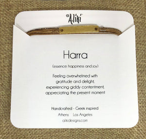 Harra: Sterling Silver, Greek Cord Bracelet