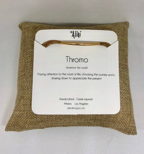 Thromo (ena): Yellow gold filled, featured in champagne
