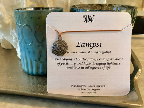 Lampsi (the aliki): Sterling Silver Pave Diamond Necklace