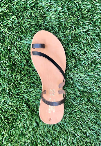 Original Handmade Ancient Greek Sandals - Simple strap