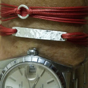 Sterling silver, featured in red; paired with Agapi in red (top)
