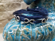 Load image into Gallery viewer, Zoe: Sterling Silver, Greek Cord Bracelet