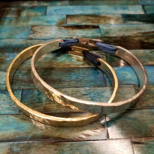 The AlikiCuff - Sterling Silver Greek Bracelet or Yellow Gold Filled Greek Bracelet